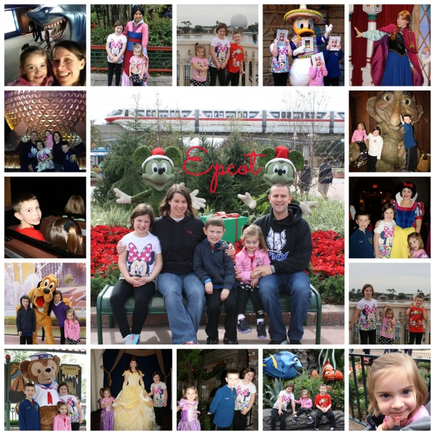 Epcot collage edited