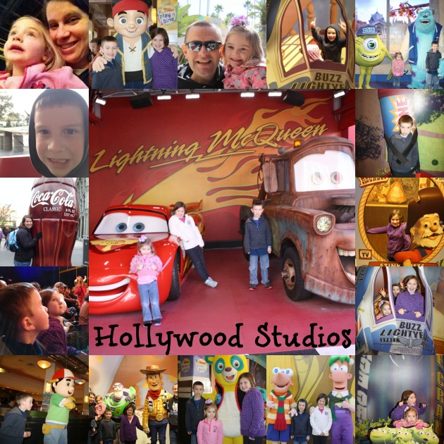 Hollywood Studios collage edited
